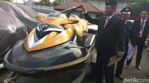 Jet Ski dan Mobil Mewah Bupati Mojokerto Dititipkan ke Rupbasan