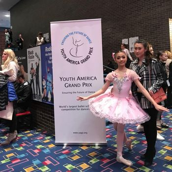 Balerina Rebecca Alexandria Menang Kompetisi Balet di AS