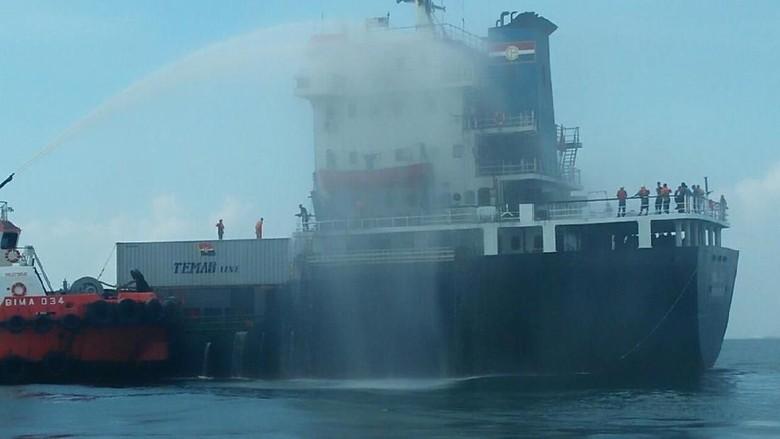 Api yang Membakar Kapal Kuala Mas Berawal dari Kabin