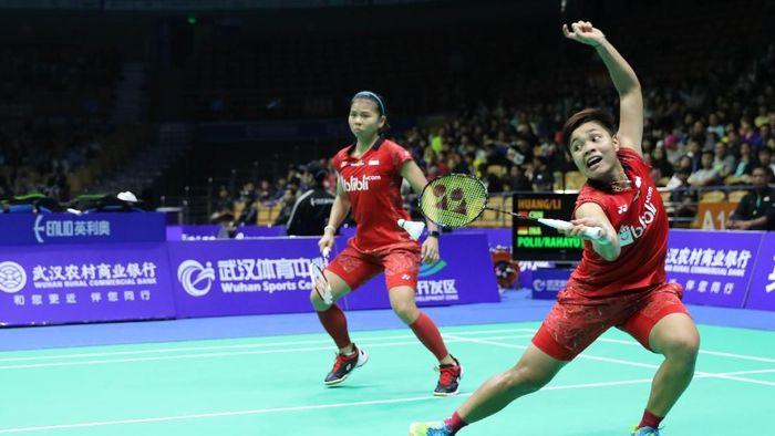 Greysia Polii/Apriyani Rahayu jadi salah satu wakil Indonesia yang tersisa di perempatfinal Kejuaraan Bulutangkis Asia 2018 (Foto: dok. Humas PBSI)