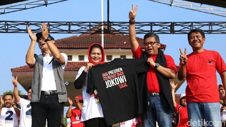 Ke Ngawi, Sekjen PDIP Target 80% Kemenangan Gus Ipul-Puti
