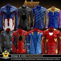 Heboh avengers infinity war baju koko thanos pun ramai - Gambar thanos ...