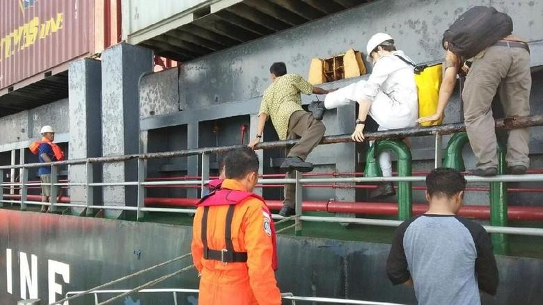 Api Padam, Seluruh Awak Kapal Kuala Mas Selamat