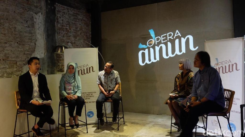 Digelar September, Opera Ainun Beda dengan Teater Musikal