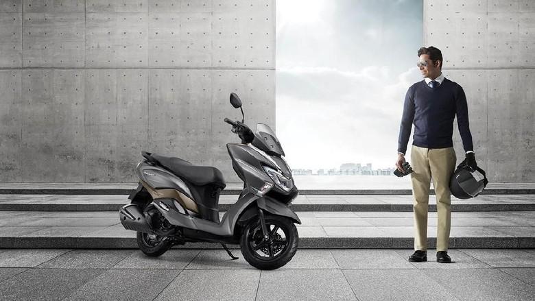 Ini Tampang Pesaing NMAX dan PCX dari Suzuki Foto: dok. SuzukiMotorcycleindia