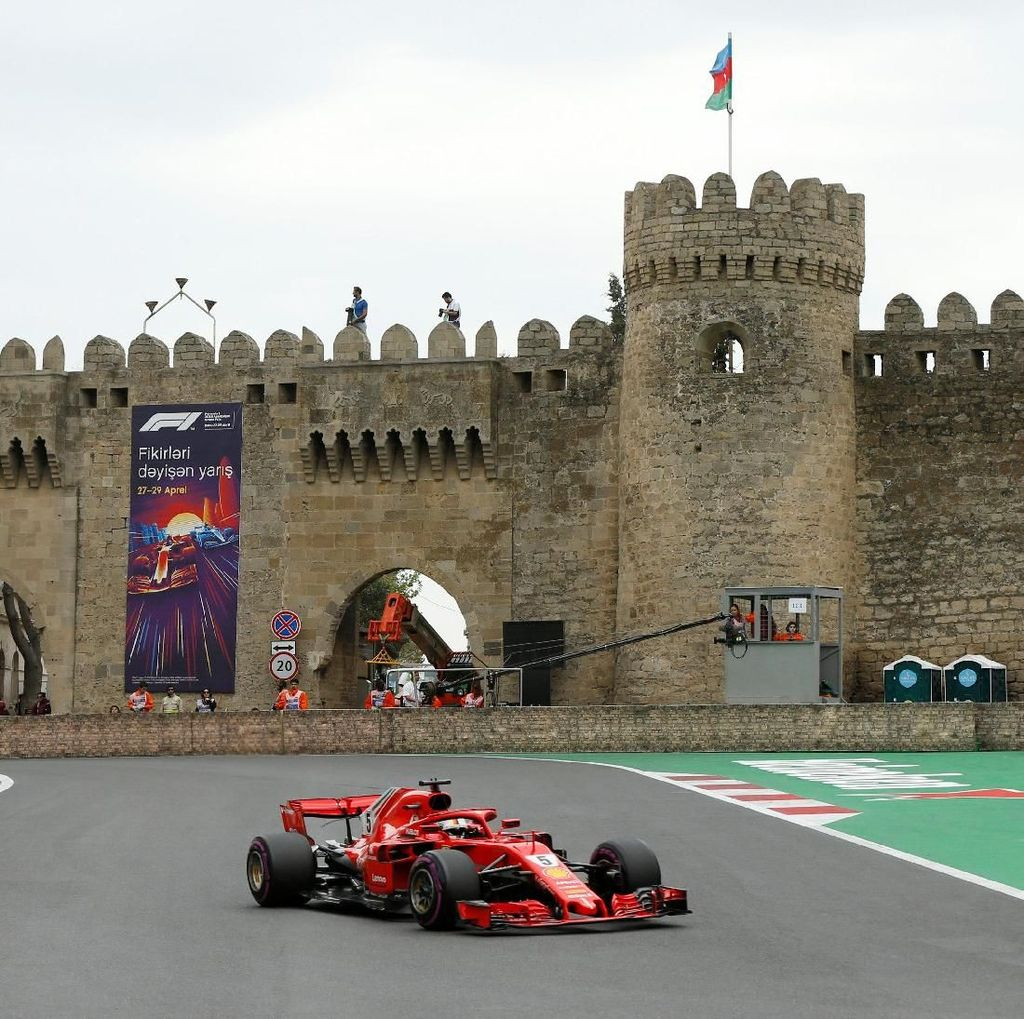 Vettel Kuasai Sesi Terakhir, Hamilton Kedua