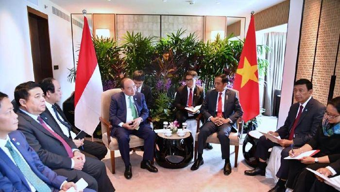Presiden Jokowi dan PM Vietnam.Foto: Laily Rachev-Biro Pers Setpres