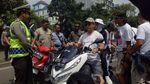Foto: Kapolri Ditilang di Thamrin