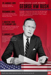 Trump Puji George HW Bush di Sela KTT G20