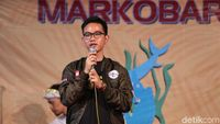 Soal #2019GantiPresiden Depan Markobar, Gibran: Promosi Gratis
