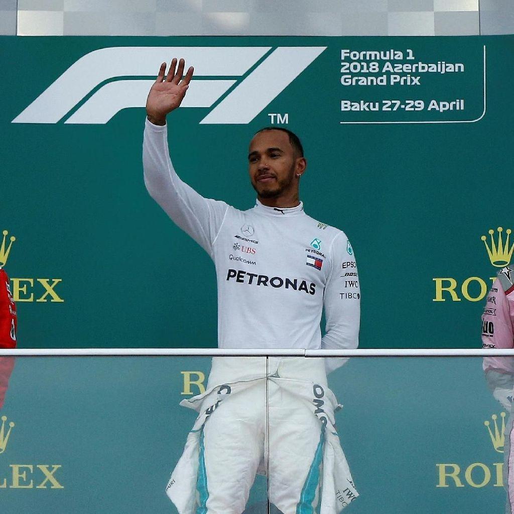Hasil F1 GP Azerbaijan 2018