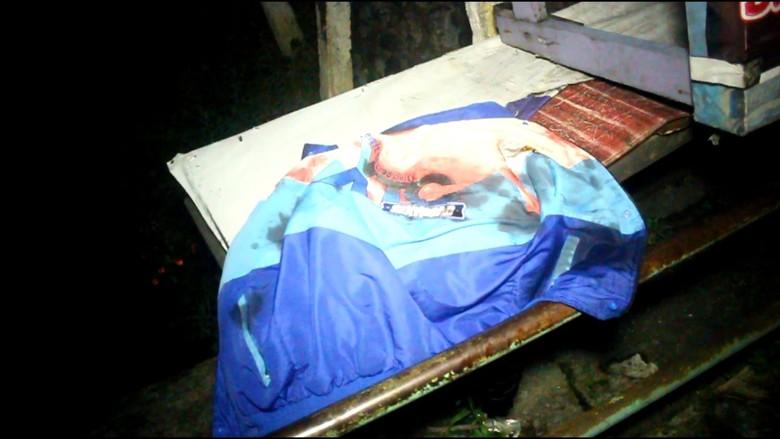 Jaket XTC Berdarah Milik Anak Ustaz yang Diserang Geng Motor