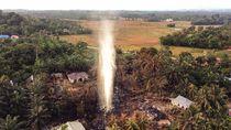 Polisi Tetapkan 4 Tersangka Ledakan Sumur Minyak di Aceh Timur