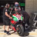 Kocak, Momen Aleix Espargaro Curi Motor Scott Redding