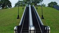 Yuk Intip Bentuk Eskalator Unik di Dunia