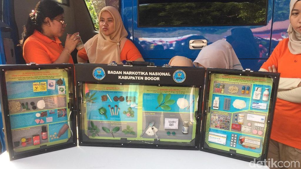 BNN Sediakan Tes Urine Gratis di Kampung Piala Dunia Sentul