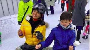 Serunya Farah Quinn Naik Jet Ski dengan Teman Bulenya