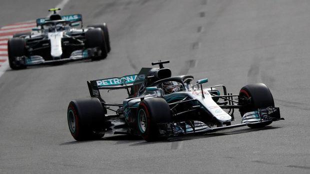 Valtteri Bottas meraih start kedua di F1 GP Spanyol. (