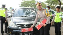 Mobil Dinas Pemprov Banten Diganti Pelat Hitam, Kena Tilang Deh!