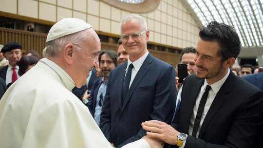 Momen Kebersamaan Katy Perry dan Orlando Bloom di Vatikan