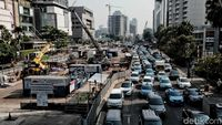 Jalan Terdampak Proyek MRT Bakal Dibuka Kembali