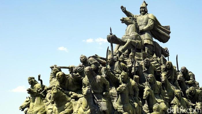 Alun-alun Genghis Khan, China