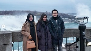 Foto: Air Terjun Niagara, Destinasi Honeymoon Syahnaz