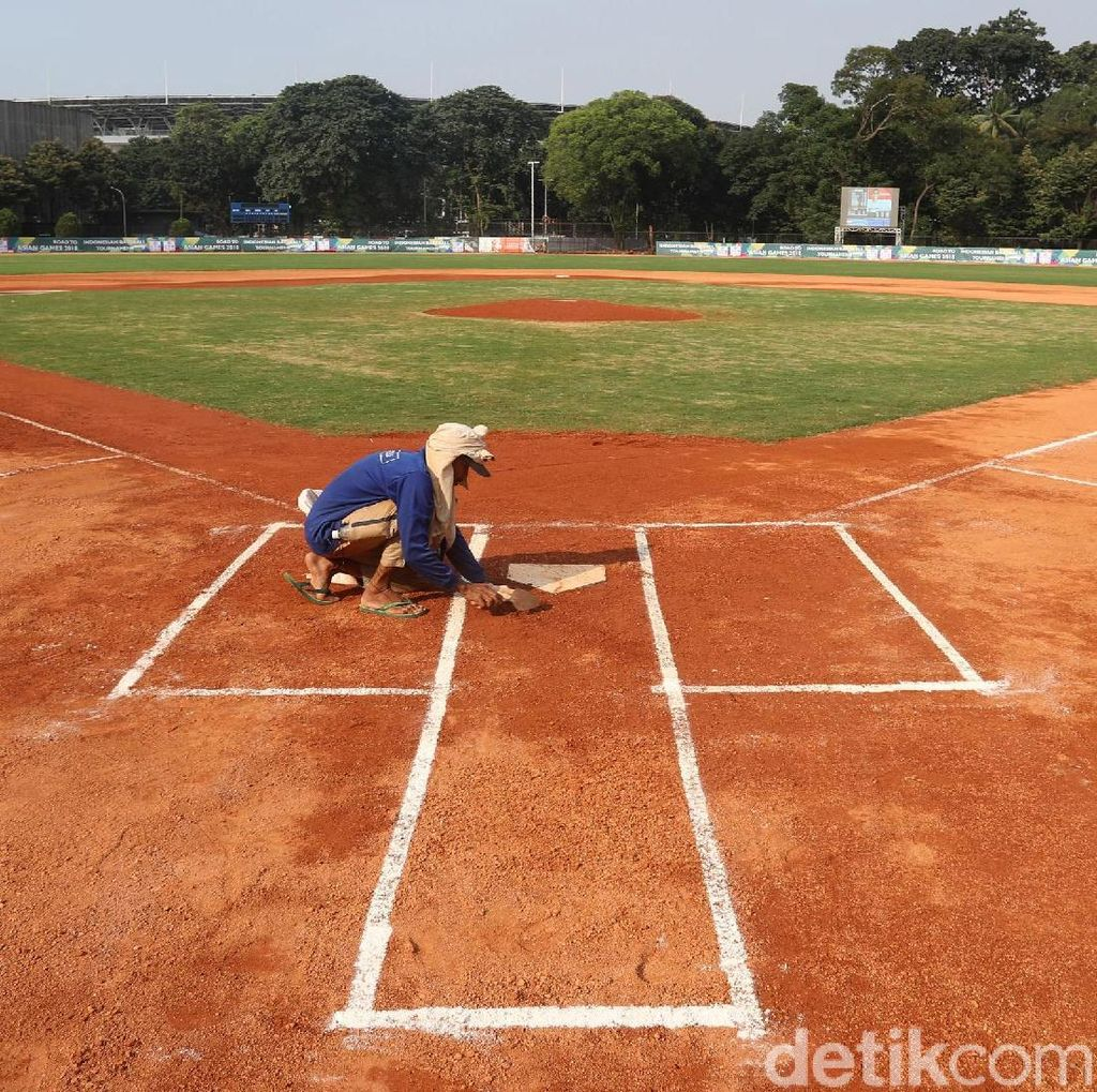 Mengintip Venue Baseball Asian Games 2018