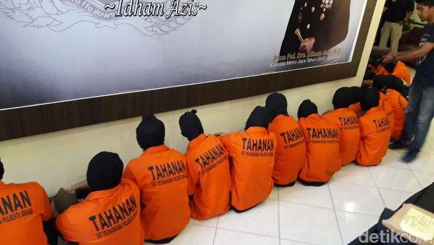 Polres Metro Bekasi Kota rilis kasus narkoba, Senin (30/4/2018)