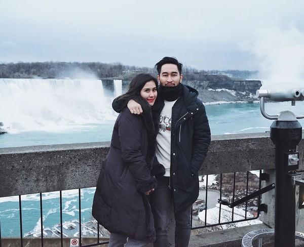 Inilah air terjun Niagara. Air terjun besar di Sungai Niagara, membentang antara New York, AS dan Ontario di Kanada (syahnazs/Instagram)
