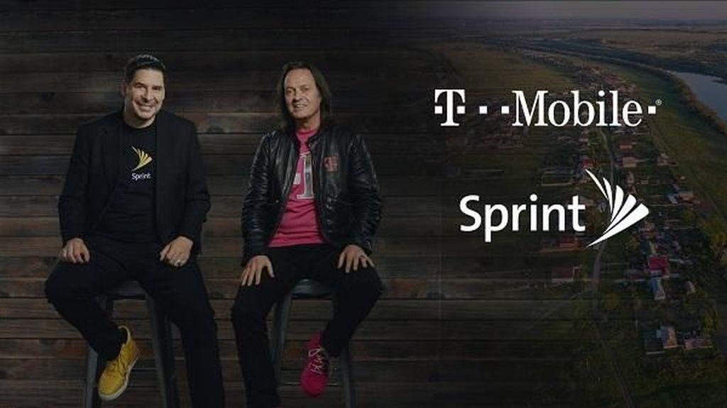 T-Mobile dan Sprint Resmi Bergabung