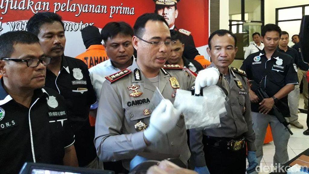Polisi Tangkap 6 Orang Pengedar Narkoba di Bekasi