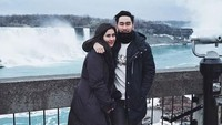Mereka juga dikabarkan menginap di sebuah hotel yang berada dekat dengan Niagara Falls. Dok. Instagram/syahnazs