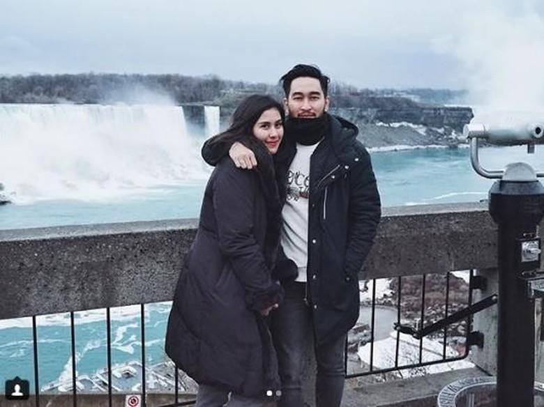 Syahnaz Sadiqah dan Jeje Foto: Dok. Instagram/syahnazs
