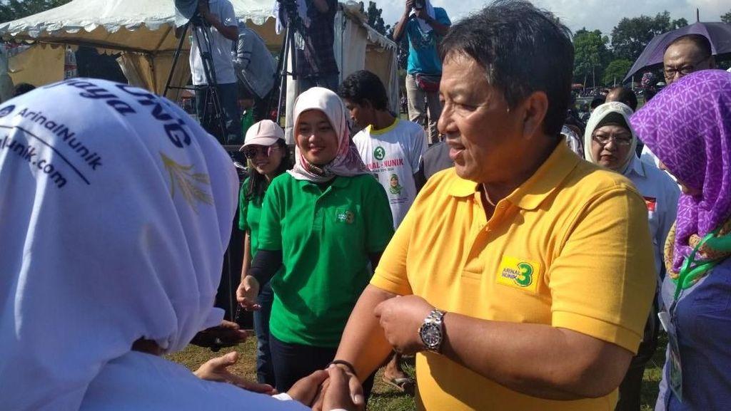 Cagub Arinal Janjikan Pembangunan Lebih Merata di Pedesaan