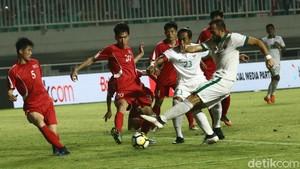 Indonesia Berimbang Tanpa Gol dengan Korea Utara
