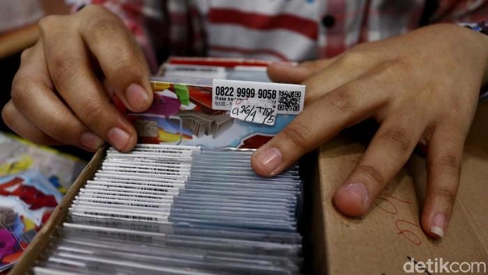 Ilustrasi penjual SIM Card. Foto: Rifkianto Nugroho