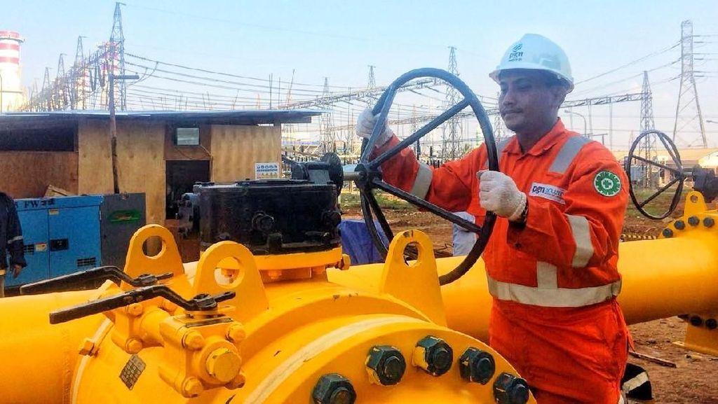 PGN Pasok Gas Bumi ke Pembangkit PLN di Muara Karang