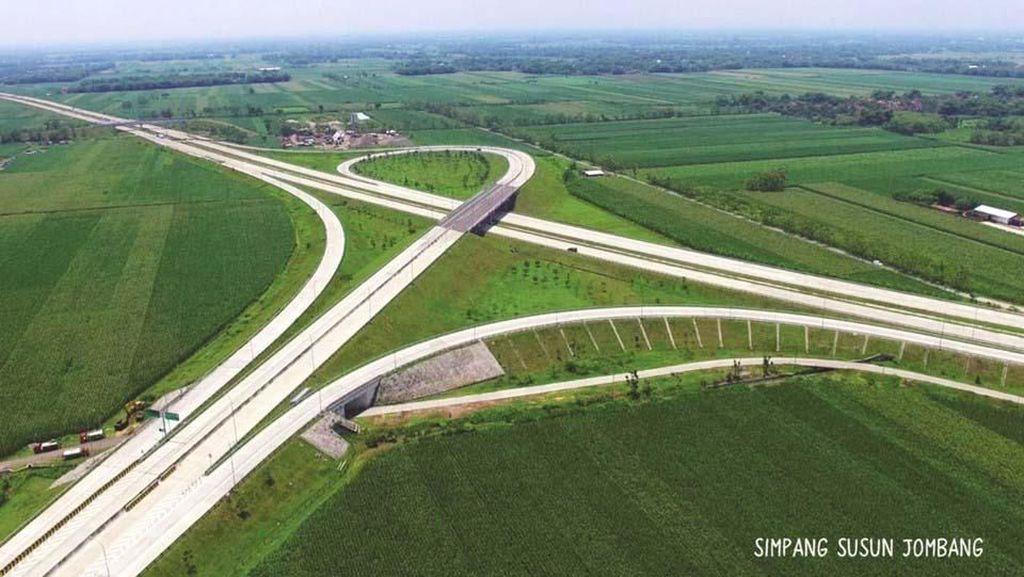 7 Jalan Tol Baru Segera Dioperasikan Bulan Ini