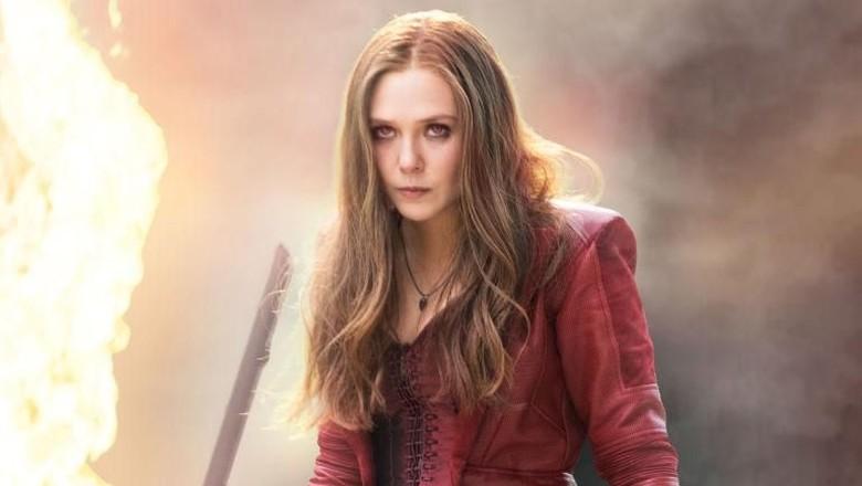 Scarlet Witch Tersenyum di Balik Adegan Thanos Bunuh Vision