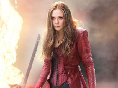 Intip Liburannya Si Cantik Scarlet Witch