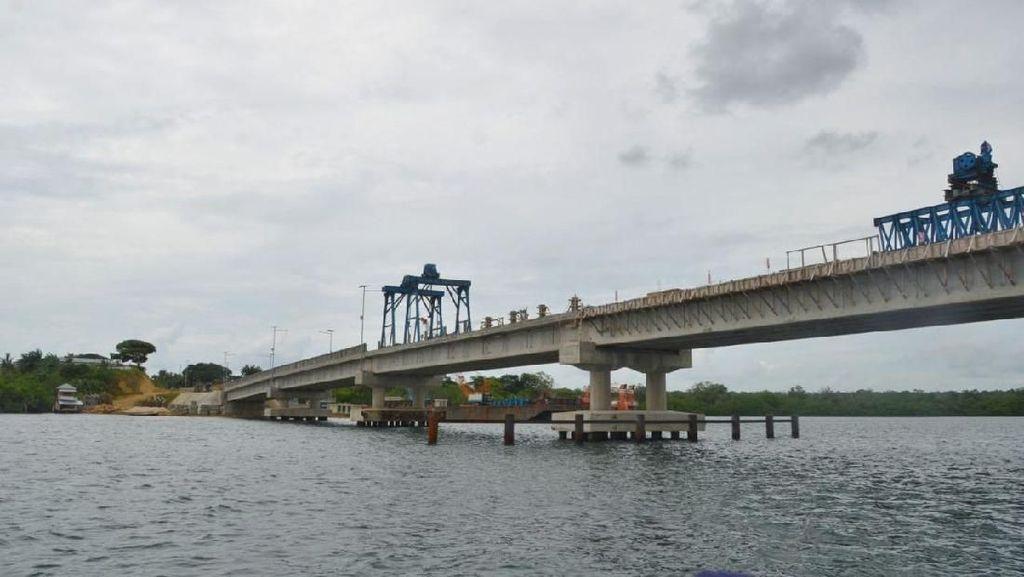 Jembatan 323 Meter Dibangun Hubungkan 2 Pulau di Maluku