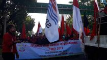 May Day, Massa Buruh Mulai Kumpul di Monas