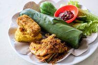 Masih Di Bandung Hari Ini Makan Siang Dengan Menu Nasi