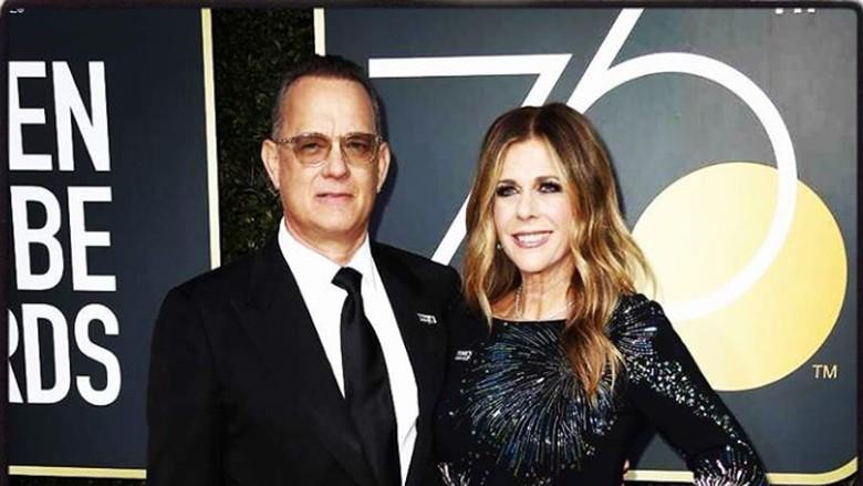 Ucapan Menyentuh dari Istri untuk Tom Hanks di Hari Ultahnya/ Foto: Instagram @ritawilson
