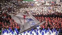 Buruh Memenuhi Istora Senayan