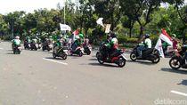 Abang Ojol Ikutan Aksi May Day 2018