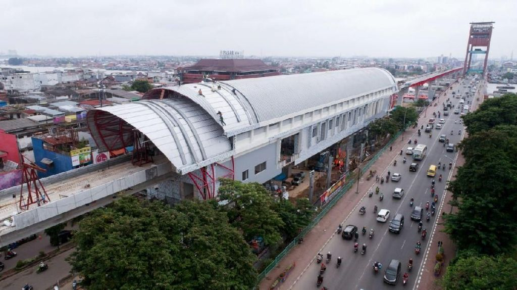 Tarif LRT Palembang Belum Ditentukan