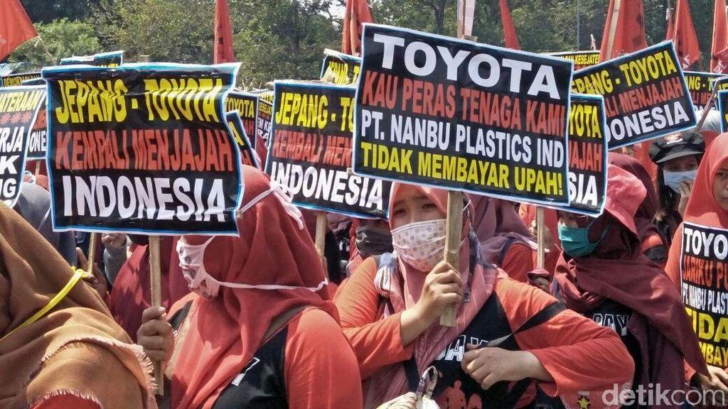 Karyawan ToyotaIkut Teriak di Hari Buruh Sedunia?