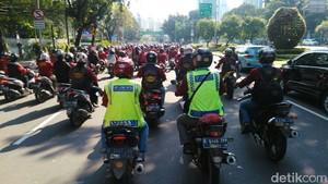 Komunitas Motor Ikut Kawal May Day 2018
